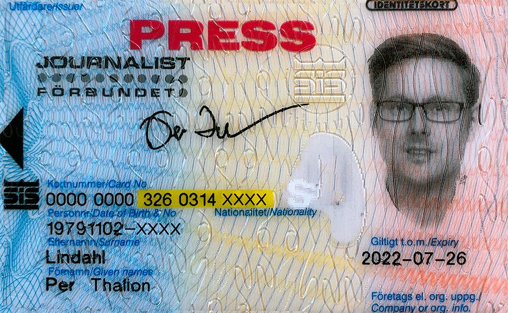 Presskort